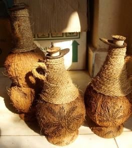Поделки из кокосовых орехов