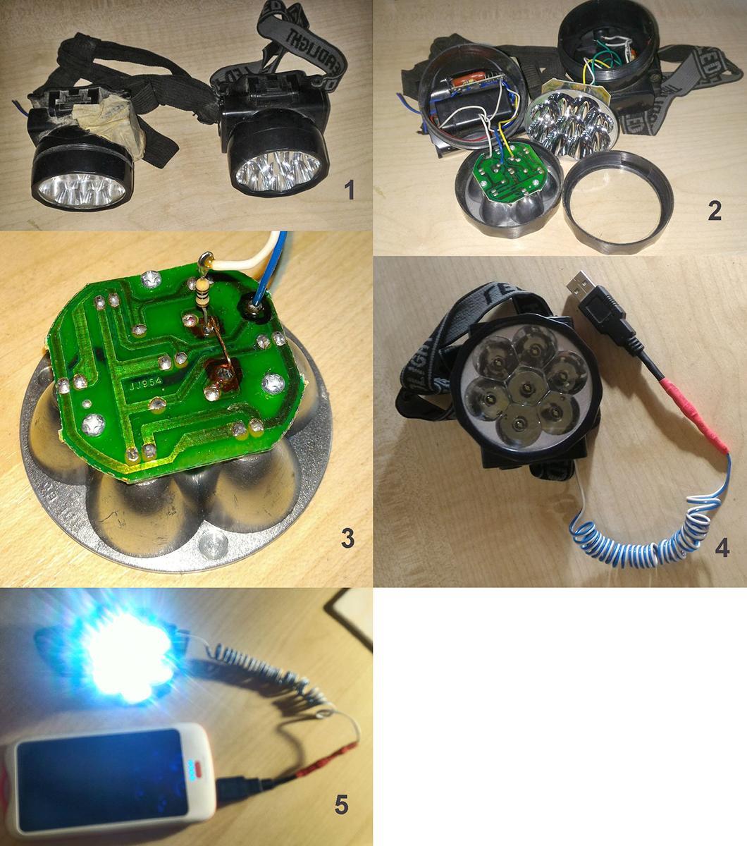 схема автомобильного люминисцентного фонарика